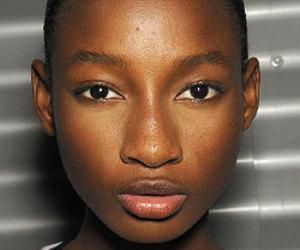 girl and no makeup image