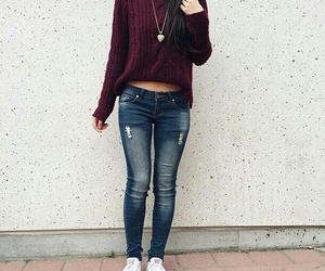 autumn, clothing, and fall image