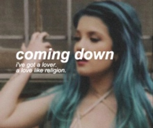 halsey, coming down, and badlands image