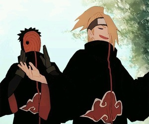 akatsuki, tobi, and obito uchiha image