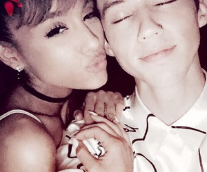 ariana grande and troy sivan image