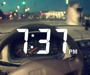 driving, late night drives, and Honda image
