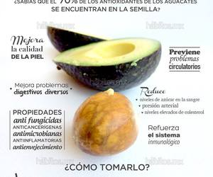food, aguacate, and health image