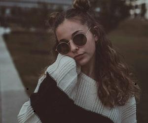 fashion, sunglasses, and girl image