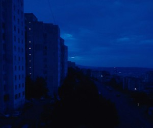 blue, cobalt, and cityscape image