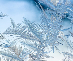 cold, frost, and glass image