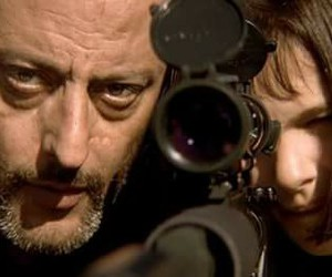 leon, the professional, and sniper image