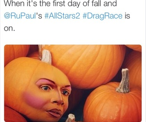 all stars, autumn, and drag queens image