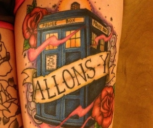 doctor who and allons-y image