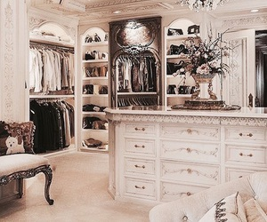 closet, fashion, and luxury image