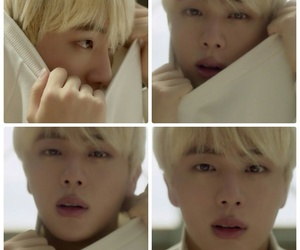army, blond, and jin image