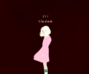 eleven, fanart, and horror image