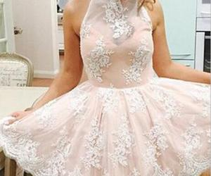 lace homecoming dress and homecoming dress pink image