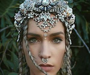 beautiful, crown, and fashion image