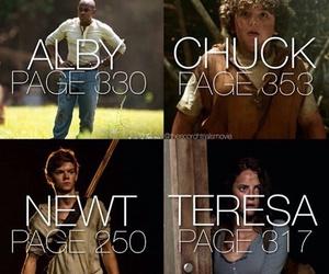newt, chuck, and teresa image
