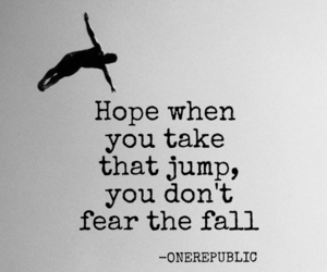 fear, hope, and letras image