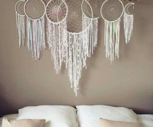 dream catcher, room, and white image