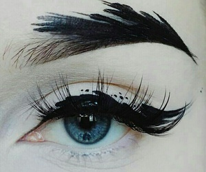 art, makeup, and eye image