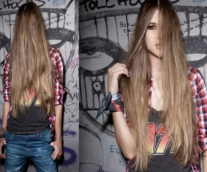 girl, hair, and cool image