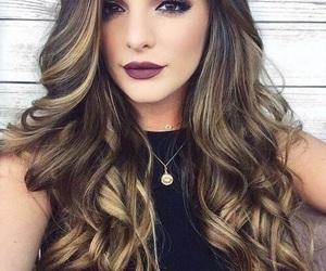 hair, makeup, and make up image