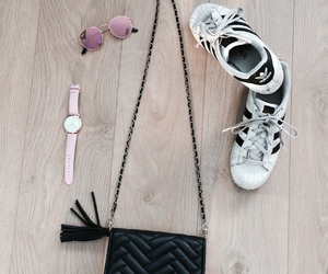 adidas, rayban, and Zara image