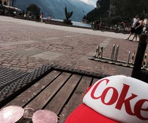 coke, italy, and rayban image