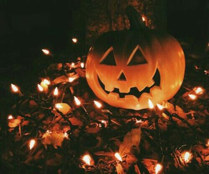 Halloween, autumn, and pumpkin image
