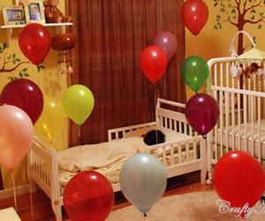 balloon, bday, and birthday image