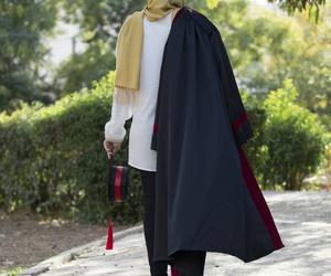 graduation, توجيهي, and hijab image