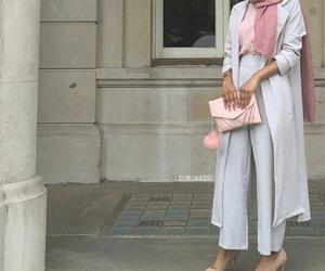 pink and hijab image
