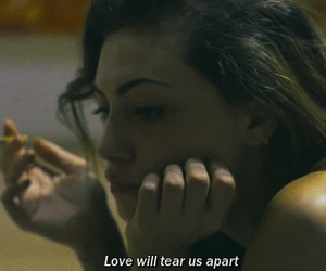 cigarette, tear apart, and love image