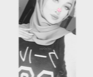 beauty, hijab, and ﺭﻣﺰﻳﺎﺕ image