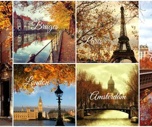 autumn, city, and bruges image