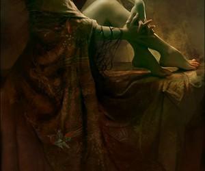 elf, art, and fantasy image