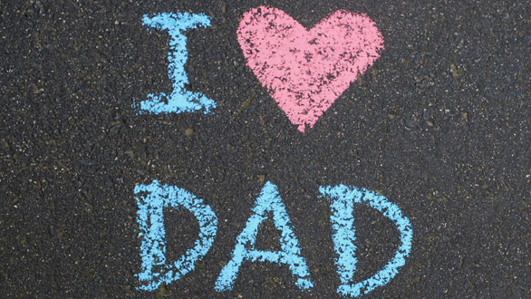 love, dad, and daddy image