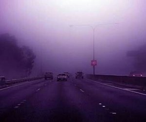 purple, grunge, and road image