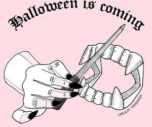 Halloween, vampire, and pink image