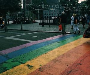 dutch, netherlands, and rainbow image