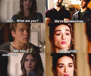 allison and teen wolf image