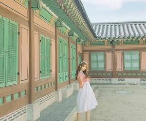 asian girl, korean, and home image