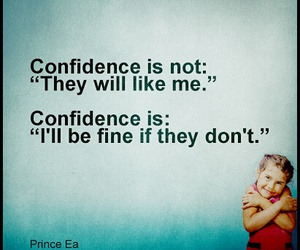 quote+, words, and self confidence image