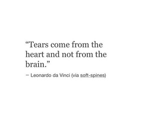 quotes, tears, and heart image