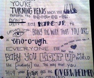 one direction, 1d, and Lyrics image