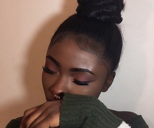 melanin and makeup image