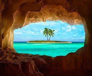 Island, beach, and summer image