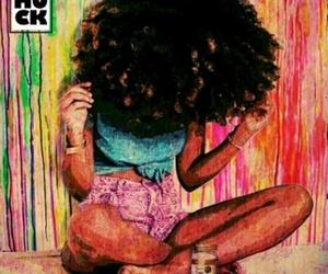 art, girl, and natural image
