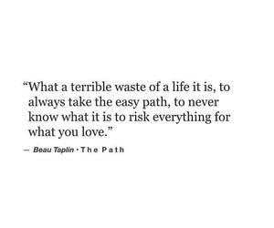 life, the path, and beau taplin image