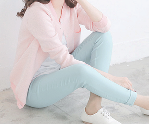 blue, fashion, and pink image