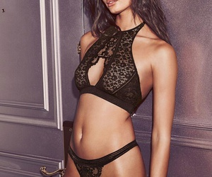 body, girl, and lingerie image