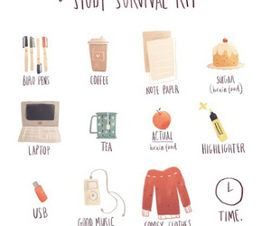study, studying, and school image